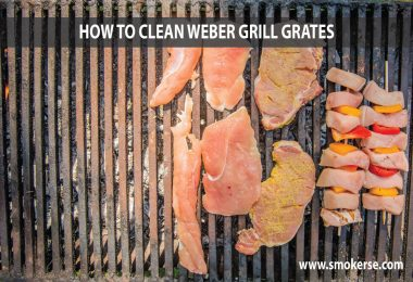 How to Clean Weber Grill Grates